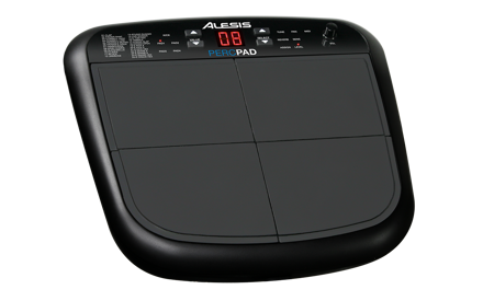 Alesis PercPad | Compact, Four-Pad Percussion Instrument