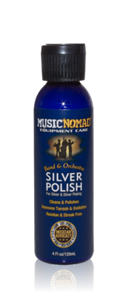Music Nomad Silver Polish for Silver and Silver Plating | MN701
