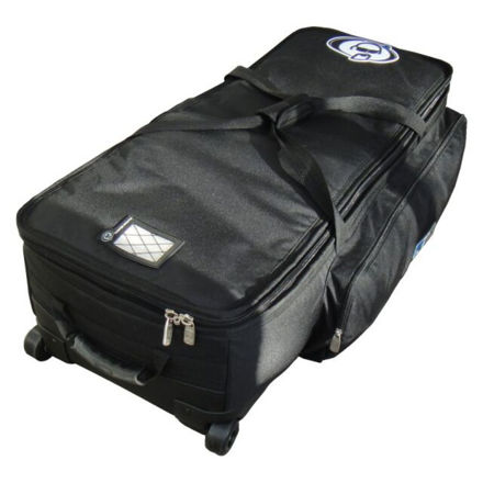 "Protection Racket 5028W09 28"" x 14"" x 10"" hardware bag wheels"