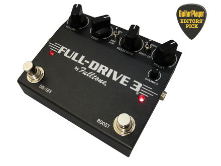 Fulltone - Full-Drive 3 - Overdrive with boost (JFET)