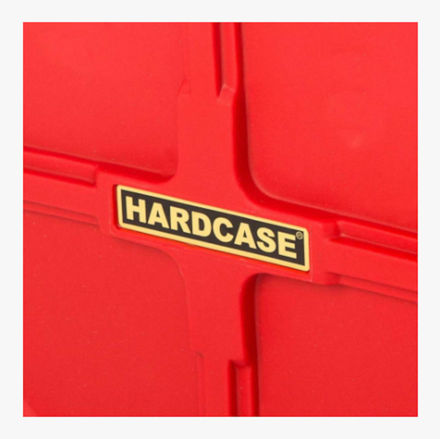 Hardcase HNP9CYM22-RD CYMBAL CASE RED