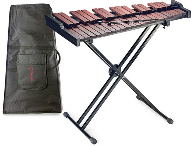 STAGG XYLOPHONE SET-37 WITH STAND+BAG