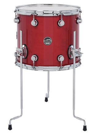 Drum Workshop Floor Tom Performance Lacquer - Cherry Stain