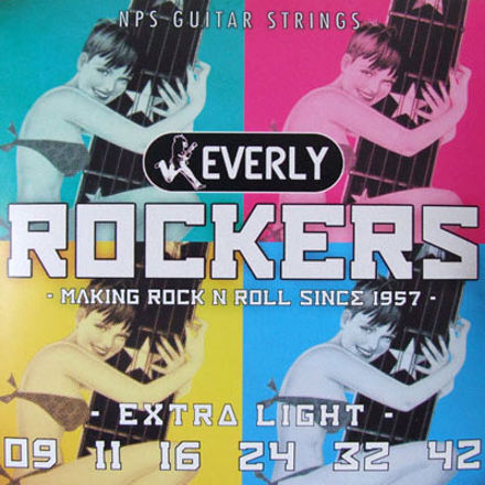 Everly Electric Rockers Extra Light 9-42