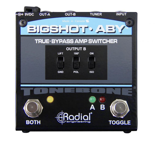 Radial Tonebone BIGSHOT ABY With Leds True-Bypass Switcher