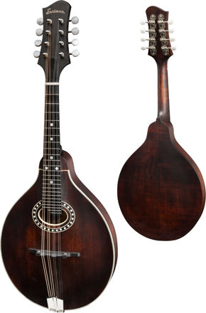 Eastman MD304 - A-style oval hole, Solid Spruce top, Solid Maple back and sides, w/Gigbag