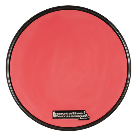 Innovative Percussion Drumsticks Rp-1r | Practice Pad Red Gum Rubber Pad With Rim