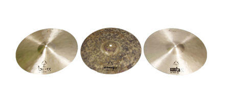 Dream Cymbals Tri Hat Diversity set, Bliss top, Contact top, Energy Bottom, comes with a bag and extra clutch