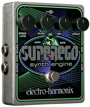 Electro-Harmonix SUPEREGO Synth engine from Moog to EMS, 9.6DC-200 PSU included