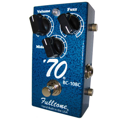 Fulltone - 70 - 70's Classic Fuzz with matched BC108C silicon transistors