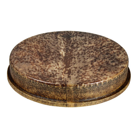 """Remo Drumhead, M2 Type, Skyndeep Natural, Goat Stripe Brown Graphic, 14"""" , 2.5"""" Collar"""