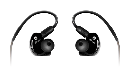 Mackie MP-240 BTA - Dual Hybrid Driver Professional In-Ear Monitors with Bluetooth® Adapter