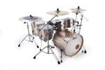 Pearl Masters Maple Complete 5-piece Shell Pack   Bright Champagne Sparkle
