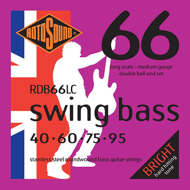 Rotosound RDB66LC Swing Bass 66 - Double Ball-End - 40-95
