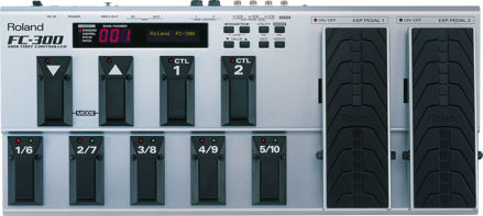 Roland FC-300 FOOT CONTROLLER