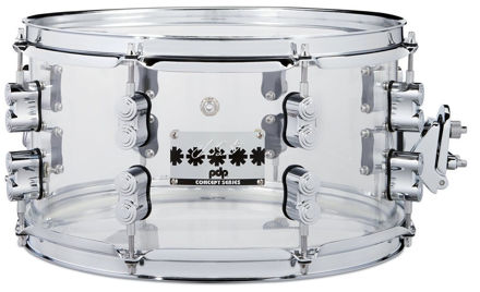 """PDP by DW Snare Drum Signature Snares Chad Smith - 13x7"""""""