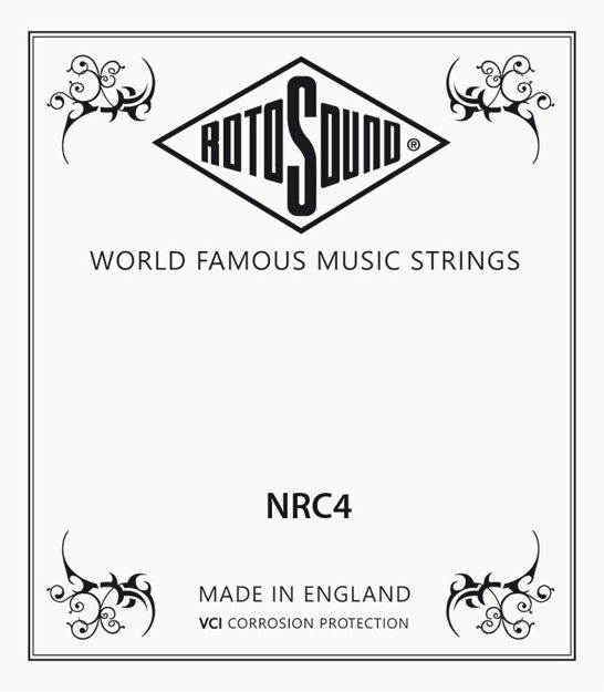 Rotosound Classical Nylon Singles Tie On 4th (D4)
