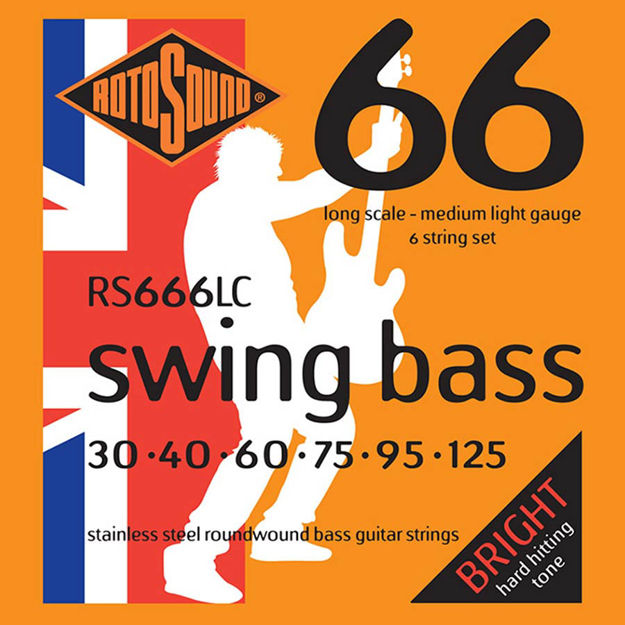 Rotosound RS666LC Swing Bass 66 - 6-str 30-125