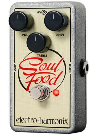 Electro-Harmonix SOUL FOOD Transparent overdrive, 9.6DC-200 PSU included