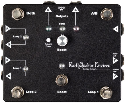 EarthQuaker Devices - Swiss Things - All-in-one pedalboard reconciliation solution