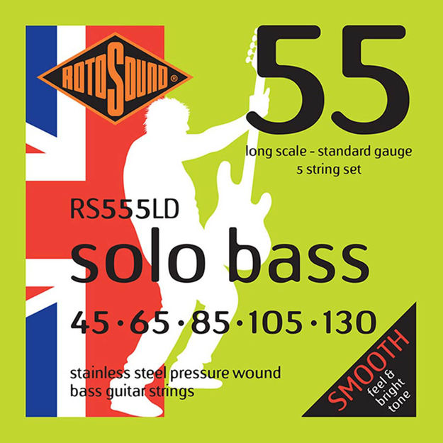 Rotosound RS555LD  Solo Bass 55 - 5-str 45-130