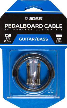 Boss BCK-2 PEDAL BOARD CABLE KIT, 2 CONNECTORS, 2FT / 0.5 M CABLE