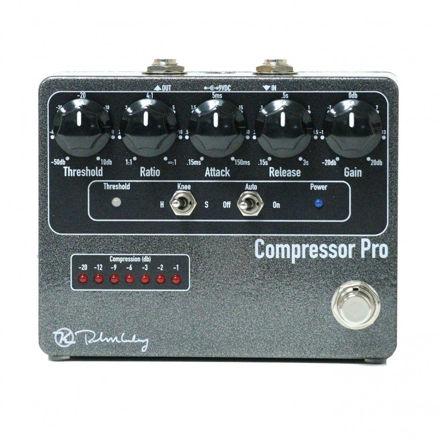 Keeley Electronics - Compressor Pro - Full featured Studio quality compression in a stompbox