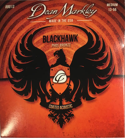 Dean Markley AC BLACKHAWK Phosphor Bronze Med 13-56