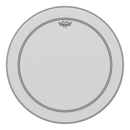"""Remo 22"""" Powerstroke 3 Coated ink Impact Patch Basstromme"""