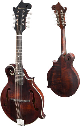 Eastman MD315 - F-style F-holes, Solid Spruce top, Solid Maple back and sides, w/Gigbag