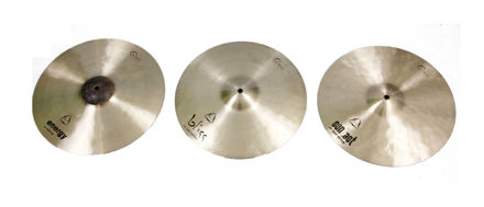Dream Cymbals Tri Hat Elements set, Bliss Bottom, Contact Bottom, Energy top, comes with bag and extra clutch
