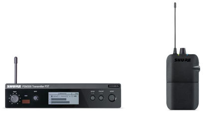 Shure PSM300 Stereo Wireless Personal Monitor System