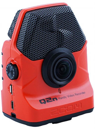 Zoom Q2n Handy Video Recorder Red Edition