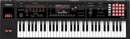 Roland FA-06B MUSIC WORKSTATION KEYBOARD