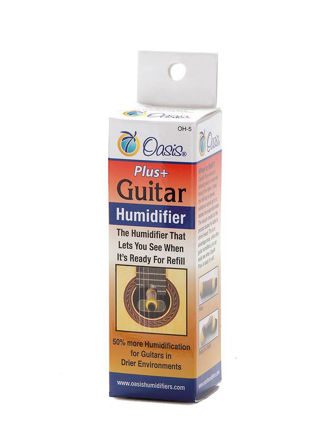 Oasis OH-5 Guitar Soundhole Humidifier Yellow +