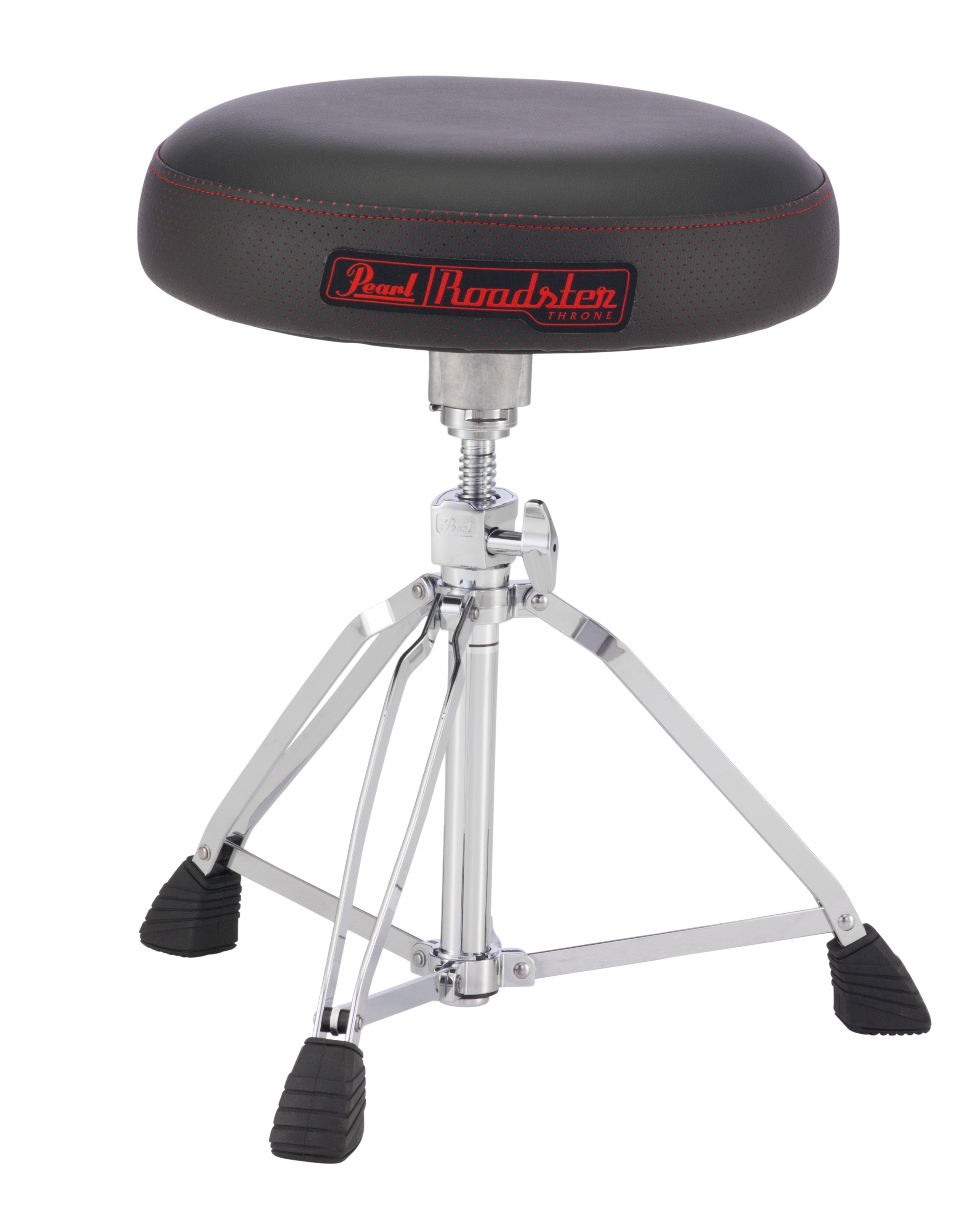 Pearl Roadster, Vented Round Seat Type Drum Throne  