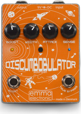 Emma Electronics - DiscumBOBulator V2 - Autowah/Filter with separate 10 dB boost