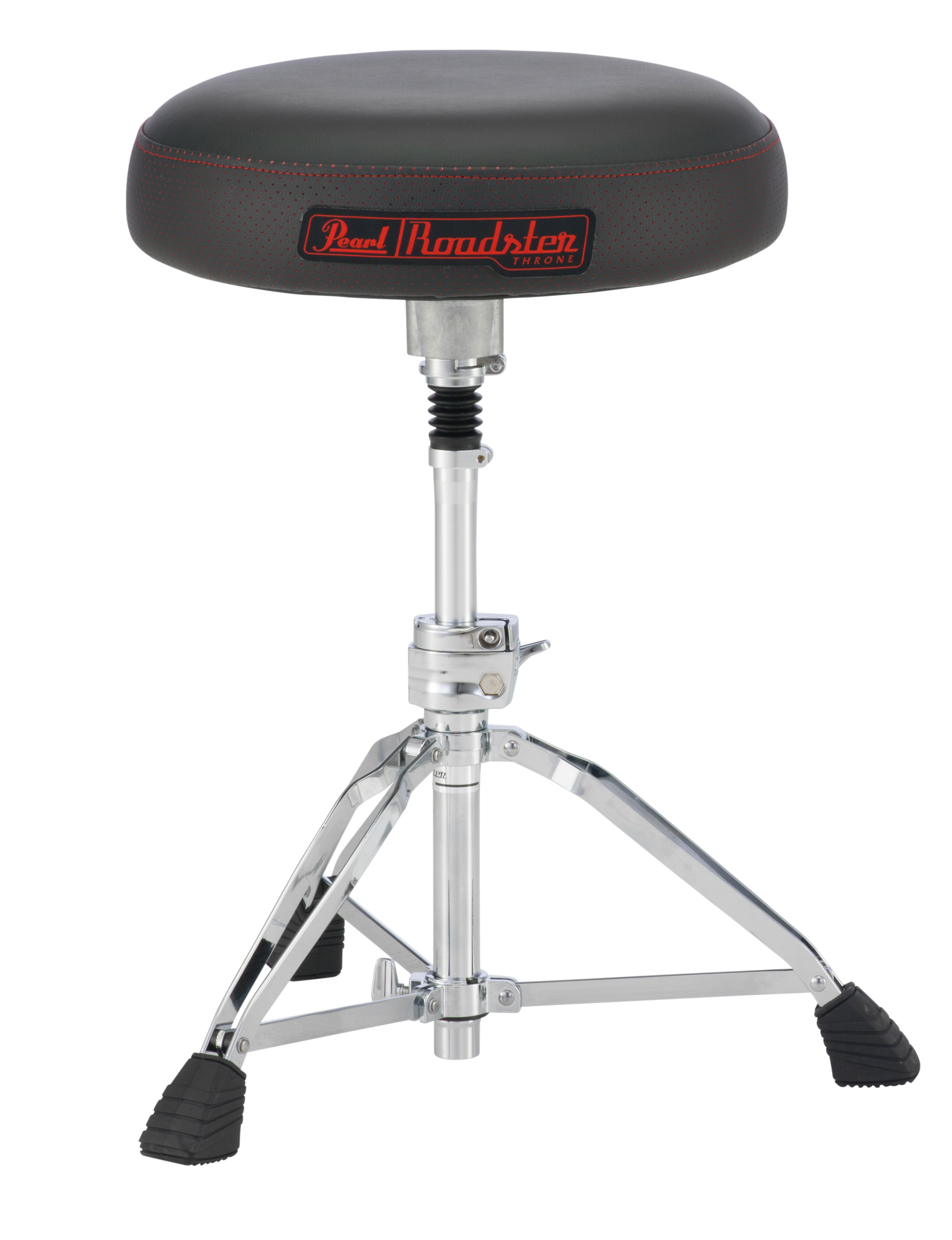 Pearl Roadster, Vented Round Seat Type, Shock Absorber Post  Drum Throne  