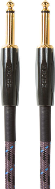 """Boss BIC-20 20FT / 6M INSTRUMENT CABLE, STRAIGHT/STRAIGHT 1/4"""" JACK"""