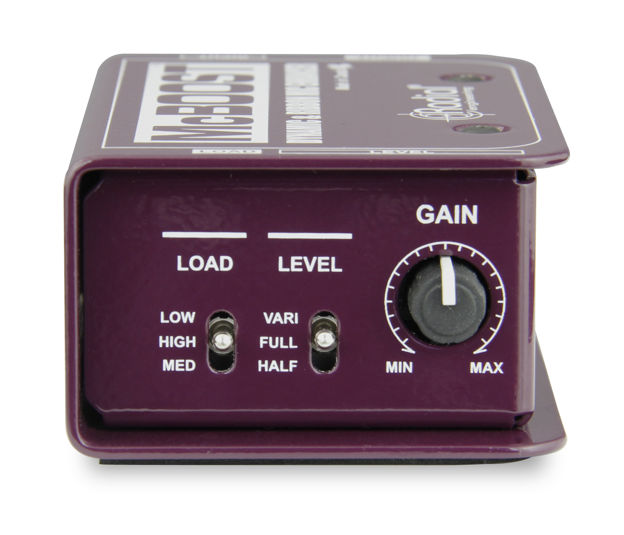Radial Radial McBoost - Mic signal booster 25dB for dynamic and ribbons