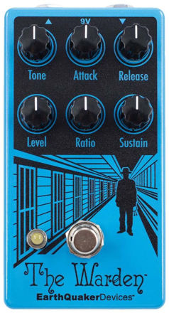 EarthQuaker Devices - The Warden V2 - Optical Compressor