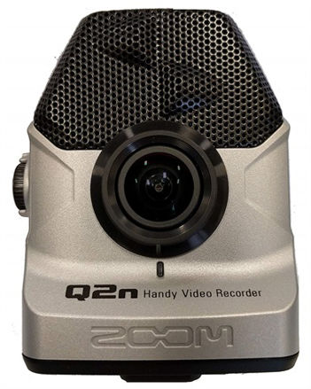 Zoom Q2n Handy Video Recorder Silver Edition