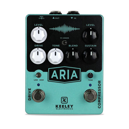 Keeley Electronics - Aria Compressor Overdrive - Aria Compressor Overdrive pedal