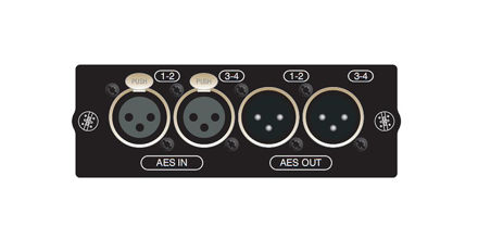 Soundcraft Si AES 4in/4out on XLR