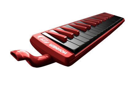 Hohner 9432/32 Melodica Fire 32 red-black
