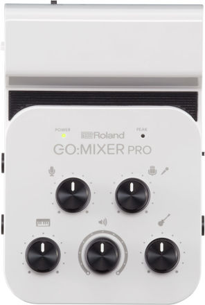 Roland GO:MIXER PRO 9 CHANNEL MIXER FOR SMARTPHONE / TABLET WITH XLR INPUT AND BATTERY OPERATION