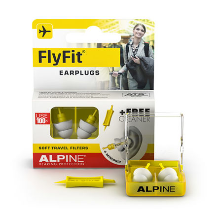 Alpine FlyFit - earplugs with minigrip