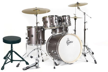 Gretsch Drum set Energy - Grey Steel
