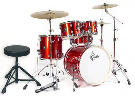 Gretsch Drum set Energy - Red