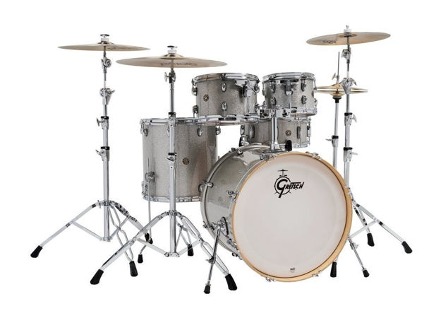 Gretsch shell set Catalina Maple - Silver Sparkle